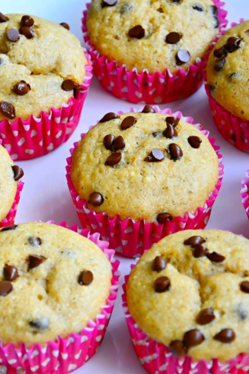 0749. Vláčne banánové muffiny s kúskami čokolády_03